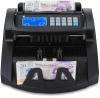 money machine detecting counterfeit banknote