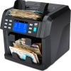nc70 note counter can count up to 4 mixed currencies at the same time