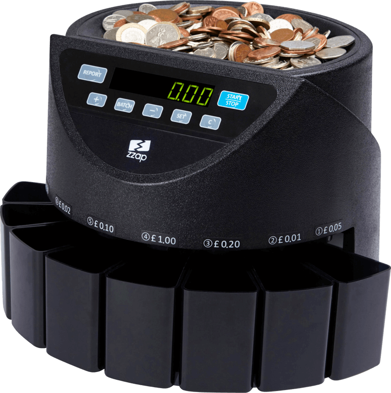 ZZap CS20 Coin Counter