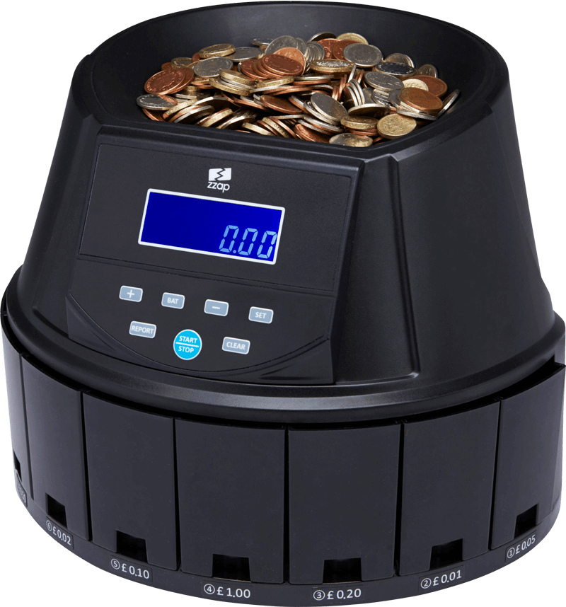 ZZap CS30 Coin Counter