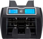 NC50 note counting machine's LCD display