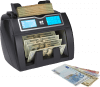 NC50 counting sorted notes of different currencies