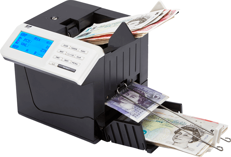 ZZap D50 Banknote counter with fake money detection