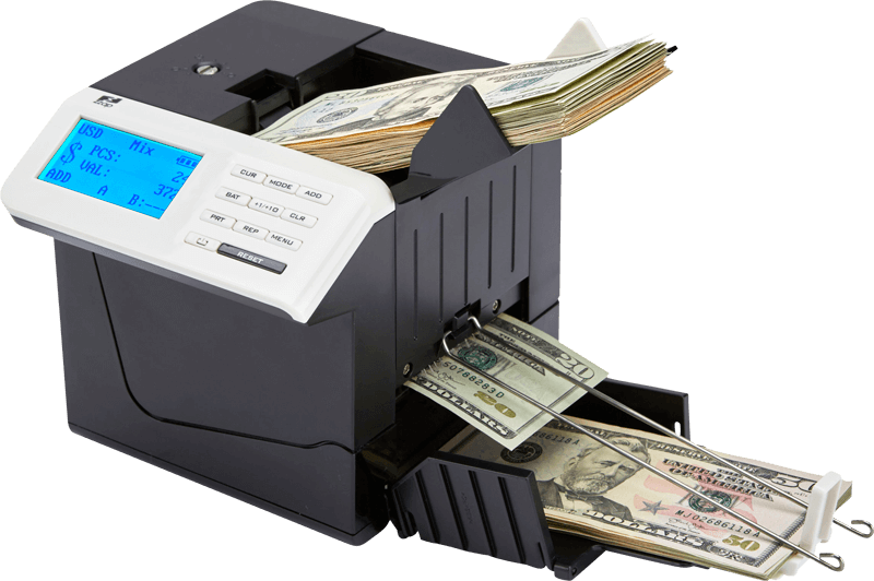 ZZap D50i Banknote Counter and fake money detector