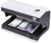 D30 counterfeit detector verifying banknote