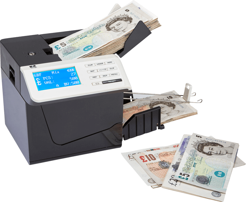 ZZap D50+ Banknote Counter