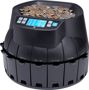 CS40 coin counting machine