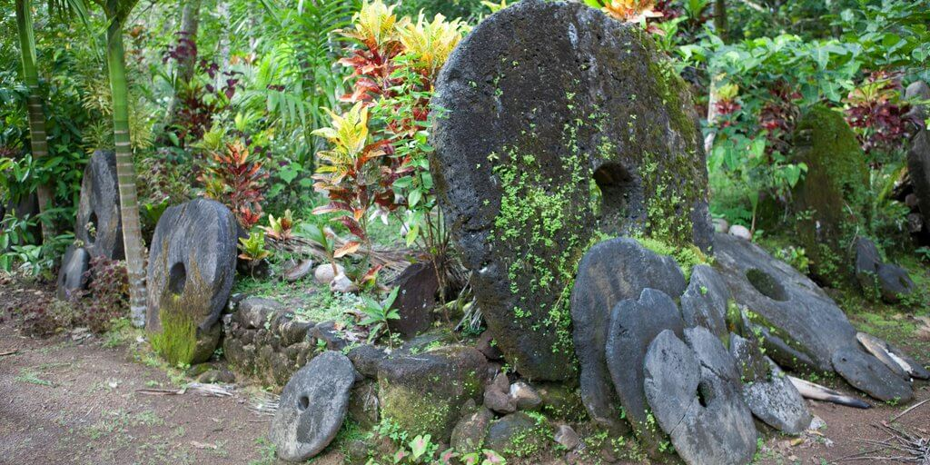 Yap Stone Wheel Money