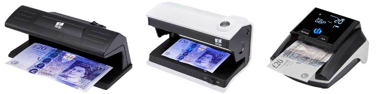 different types of counterfeit detectors