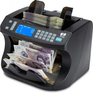 zzap nc40 new polymer banknote counter