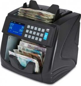 zzap nc 60 new polymer banknote counter