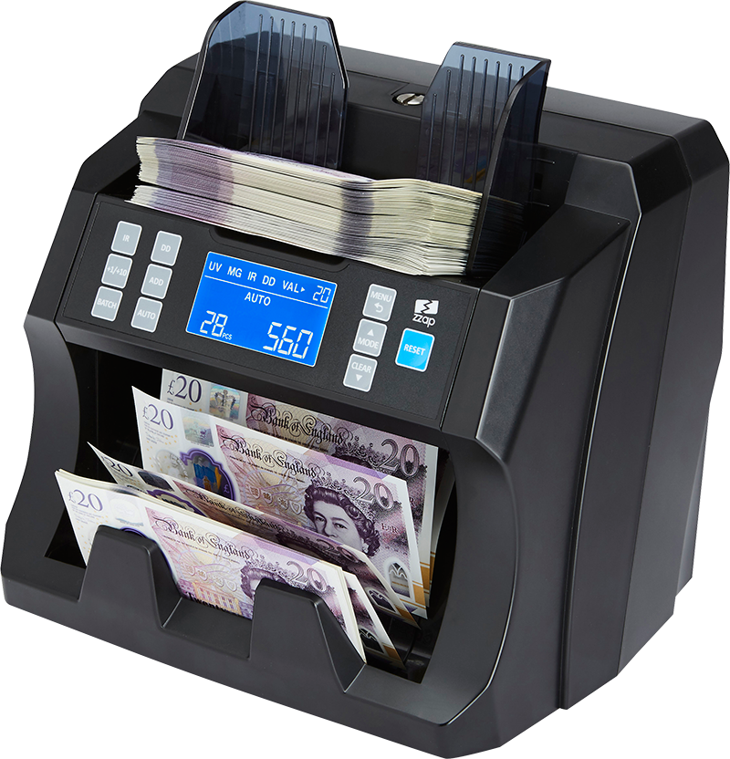 ZZap NC25 money counter machine