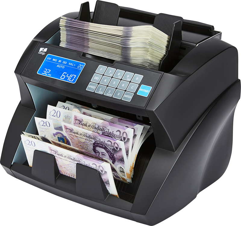 ZZap NC30 money counter machine