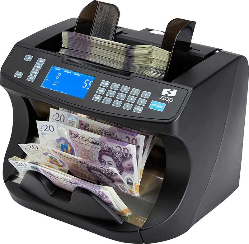 ZZap NC40 money counter machine
