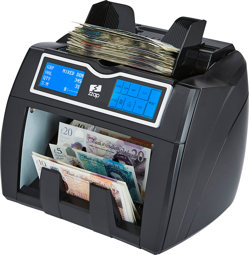 ZZap NC50 money counter machine