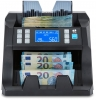 Money machine features automatic or manual start