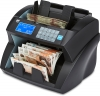money counting machine counting new polymer £10 banknotes ZZap NC30