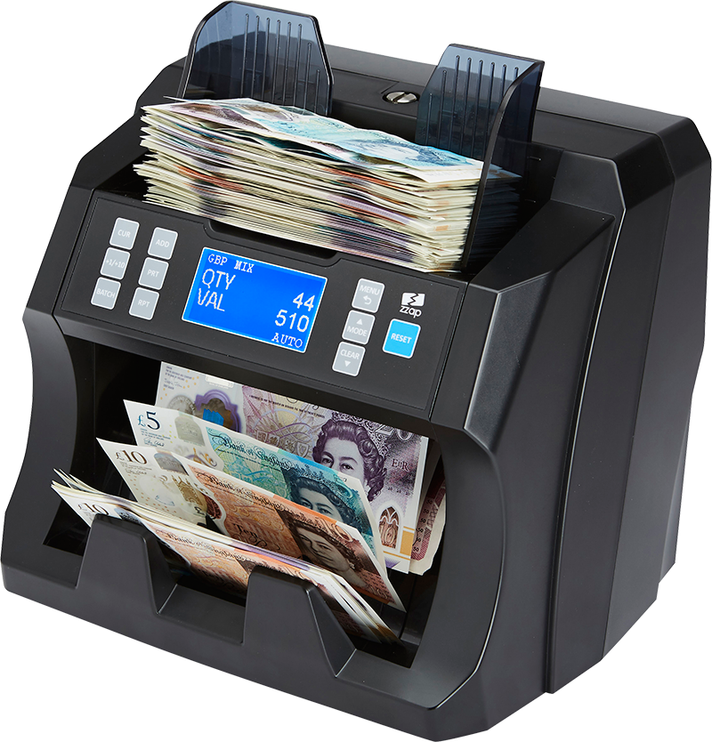 ZZap NC45 money counting machine