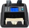 The NC55 money counting machine automatically recognises the currency and denomination