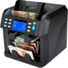 note counter machine sorts by denomination, orientation, face, currency, version