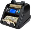 NC55 money counting machine value counts up to 12 currencies
