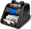money counter machine counting GBP notes
