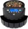 money counter has a large hopper capacity
